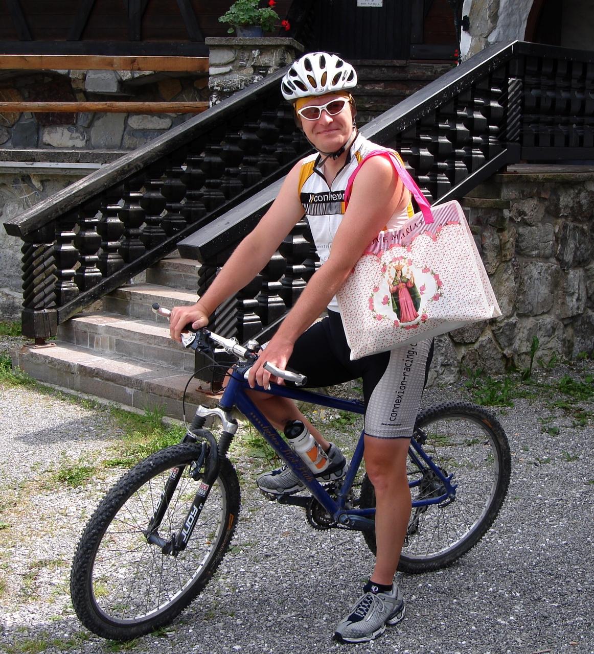 Mit dem Cityrad trainiert!